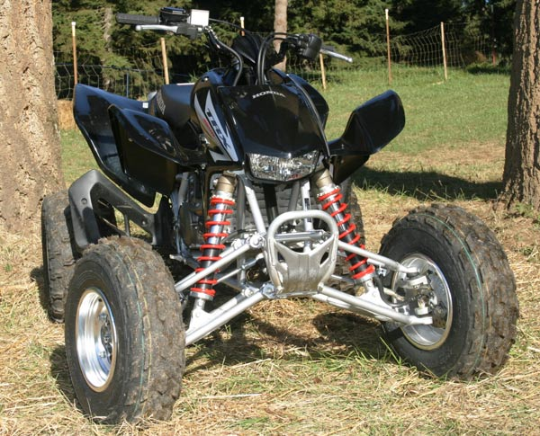 The TRX450R returns for 2006