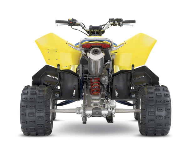 suzuki ltr 450 quadracer. The LTR 450 is wide and ready